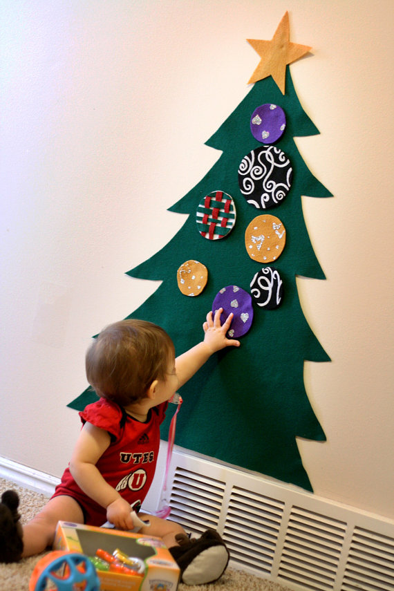 Felt Christmas Tree for Toddler