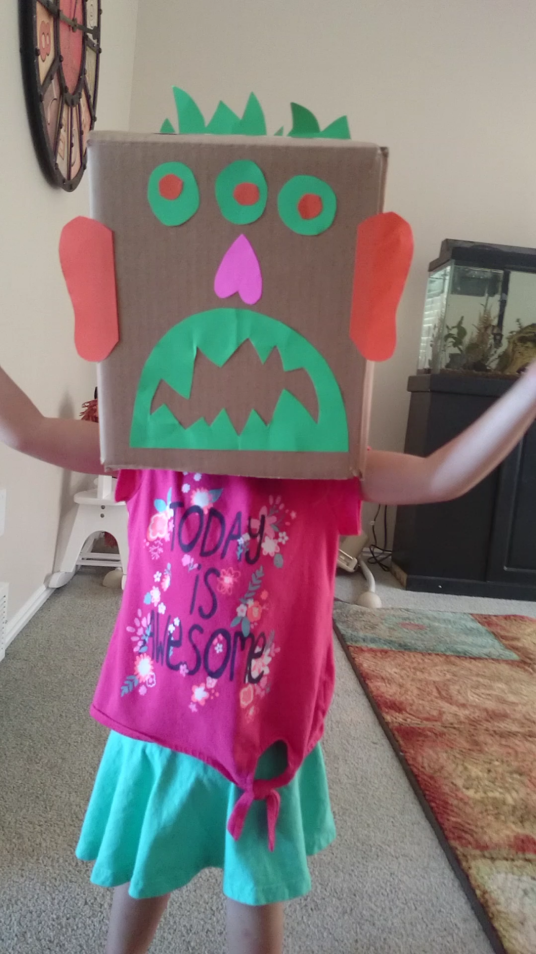The Scariest Monster Easy Toddler Boredom Killer Em Is Crafty