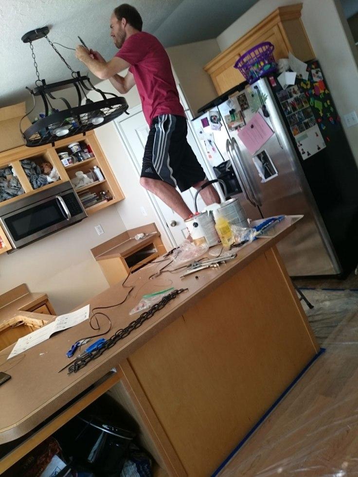 Bro installing light