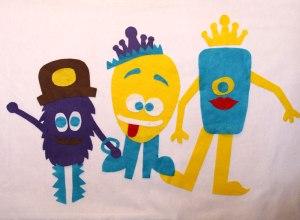 Felt Monster Wall Toddler Toy Gift