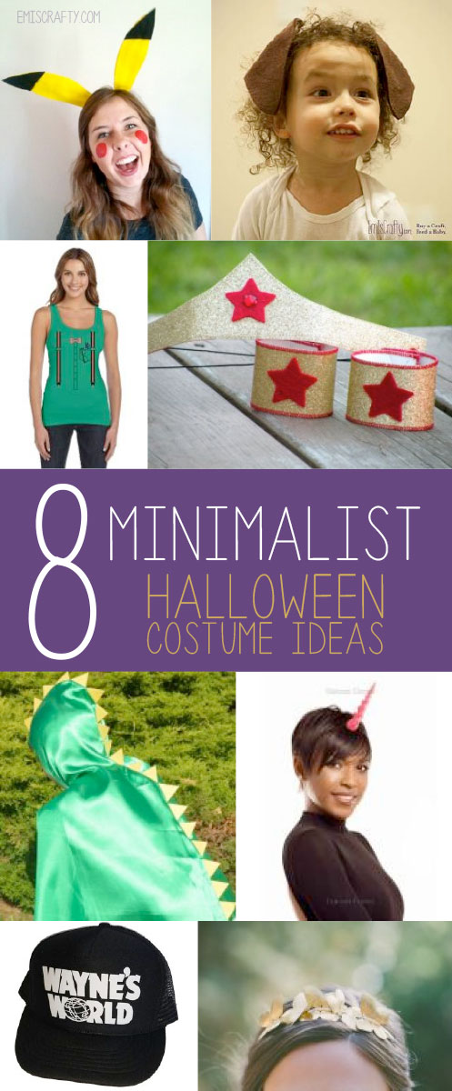 minimalist halloween costume ideas
